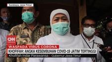 VIDEO: Khofifah: Angka Kesembuhan Covid-19 Jatim Tertinggi