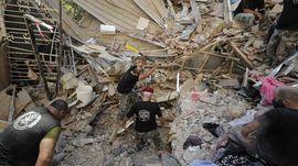 FOTO: Hiruk-pikuk Evakuasi Pasca Ledakan Libanon