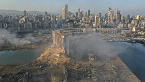 Kronologi Amonium Nitrat Tiba di Pelabuhan Beirut