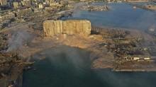 Penyidik Temukan Bunker di Lokasi Ledakan Beirut