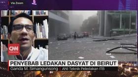 VIDEO: Penyebab Ledakan di Beirut Libanon