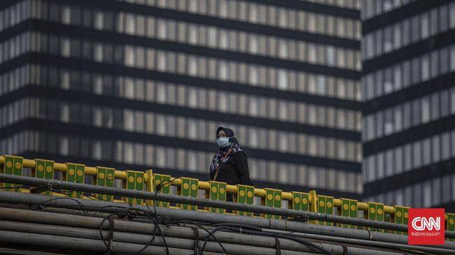 Gedung Dinas Teknis DKI Jakarta di Jalan Abdul Muis, Jakpus, hanya ditutup di lantai Sudin Pendapatan Jakarta Pusat karena ditemukan kasus positif Covid-19.
