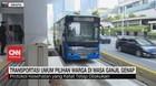 VIDEO: Transportasi Umum Pilihan Warga di Masa Ganjil-Genap