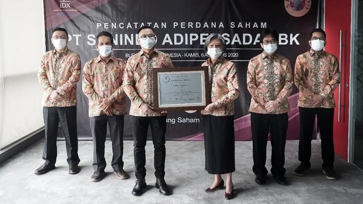PT Sunindo Adipersada Tbk (TOYS)/BEI