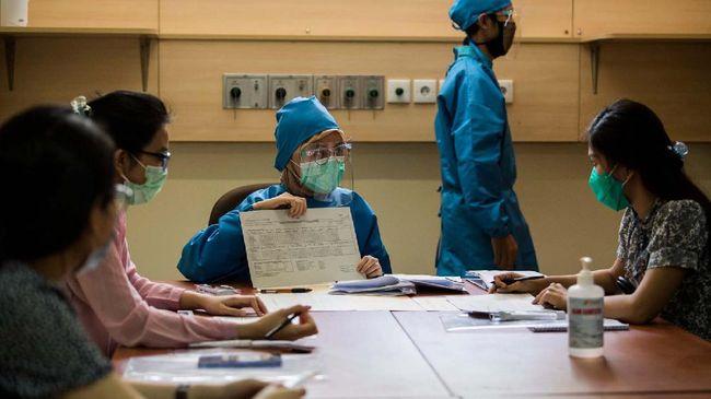 Sebanyak 1.548 orang telah mendaftar sebagai relawan uji klinis fase III vaksin Covid-19 di Bandung hingga Jumat (14/8) siang.