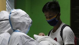 FOTO: Sempat Selamat dari Corona, Bayi di Filipina Meninggal