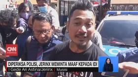 VIDEO: Diperiksa Polisi, Jerinx Meminta Maaf kepada IDI