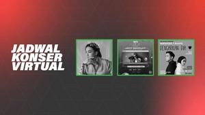 INFOGRAFIS: Jadwal Konser Virtual Musisi Indonesia Agustus