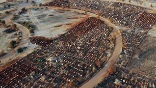 FOTO: Kasus Positif Corona di Afrika Tembus 1 Juta