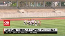 VIDEO: Latihan Perdana Timnas Indonesia di Masa Pandemi