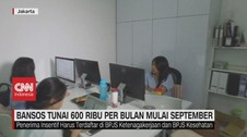 VIDEO: Bansos Tunai Rp.600 Per Bulan Mulai September