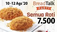 <p>Bread Talk juga ngasih promo nih. Promo murah ini berlaku dari 10 sampai 12 Agustus aja, Bunda.</p>