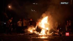 VIDEO: Bentrokan Desak Reformasi Pemerintah Libanon