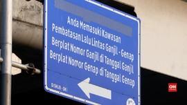VIDEO: Opsi Ganjil Genap 24 Jam di Semua Ruas Jalan Jakarta