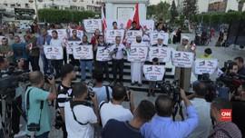 VIDEO: Solidaritas Warga Palestina Untuk Libanon
