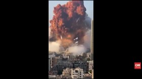 VIDEO: Rangkaian Video Amatir Dahsyatnya Ledakan di Libanon