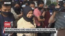 VIDEO: Anita Kolopaking Kunci Kasus Surat Palsu Djoko Tjandra