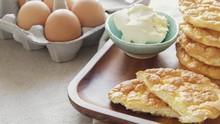 Kandungan Nutrisi Cloud Bread, Roti Awan yang Sedang Viral