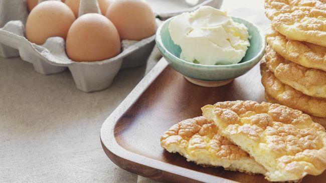 Cloud bread yang saat ini viral dibuat hanya dari tiga bahan sederhana. Bagaimana kandungan nutrisinya?