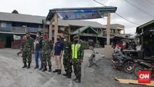 Tiga Kecamatan di Karo Diselimuti Abu Vulkanik Sinabung