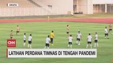 VIDEO: Latihan Perdana Timnas di Tengah Pandemi
