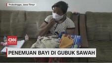 VIDEO: Penemuan Bayi di Gubuk Sawah