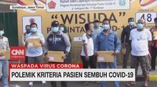 VIDEO: Polemik Kriteria Pasien Sembuh Covid-19