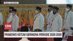 VIDEO: Prabowo Kembali Jadi Ketum Gerindra 2020-2025