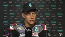 VIDEO: Quartararo Diadang Masalah Ban di MotoGP Ceko