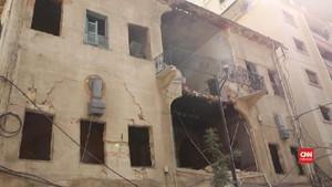 VIDEO: Puluhan Orang Masih Hilang Pasca Ledakan Beirut
