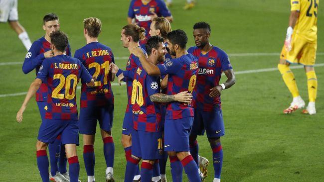 Rivaldo menyebut Barcelonaa akan lebih diuntungkan dibanding Bayern Munchen dengan pertandingan satu leg di Liga Champions.