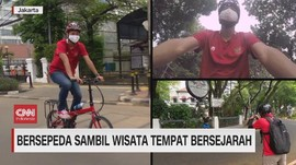 VIDEO: Bersepeda Sambil Wisata Tempat Bersejarah