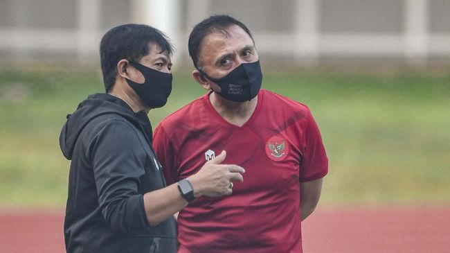 Ketua Umum PSSI, Iwan Bule menargetkan Timnas Indonesia U-23 meraih kemenangan saat uji coba melawan PS Tira Persikabo.