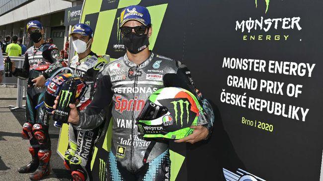 Berikut sembilan fakta menarik jelang balapan MotoGP Ceko 2020 di Sirkuit Brno, Minggu (9/8).