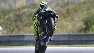 Rossi Resmi Absen di MotoGP Teruel, Tak Diganti Pembalap Lain