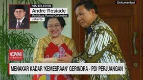 VIDEO: Menakar Kadar Kemesraan Gerindra-PDI Perjuangan