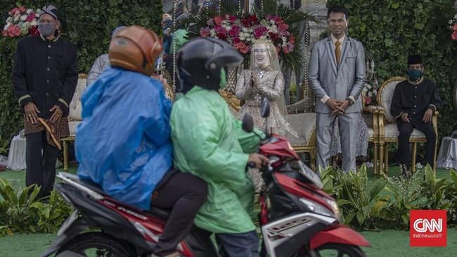 Foto: Pernikahan Drive Thru Jadi Alternatif di Tengah Pandemi