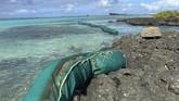Mauritius sedang mengalami bencana tumpahan minyak yang mengancam kehidupan bawah lautnya yang amat dilindungi.