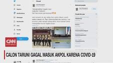 VIDEO: Calon Taruni Gagal Masuk Akpol Karena Covid-19