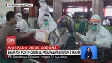 VIDEO: 6 ASN Positif Covid-19, PN Surabaya Ditutup 2 Pekan