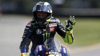 Positif Covid-19, Rossi Bakal Absen MotoGP Aragon 2020