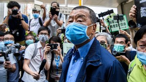 Tokoh Pro Demokrasi, Jimmy Lai Ditangkap Polisi Hong Kong