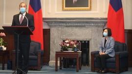 Menkes AS Bertemu Presiden Taiwan Bahas Penanganan Covid-19