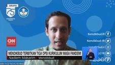 VIDEO: Mendikbud Terbitkan 3 Opsi Kurikulum Masa Pandemi