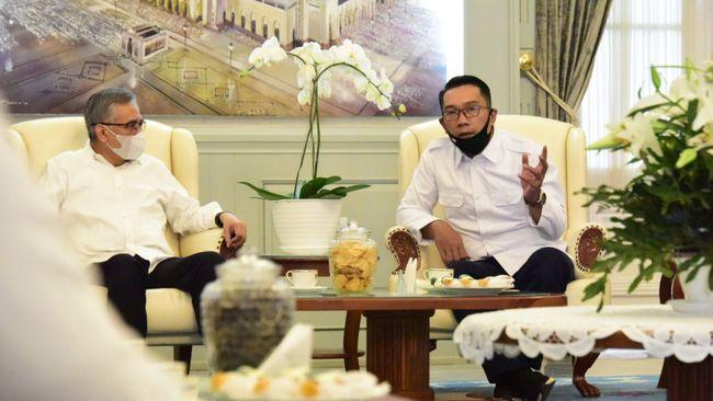Ridwan Kamil berharap agar manufaktur Jabar dapat segera dipulihkan dan kembali menggerakkan ekonomi nasional.