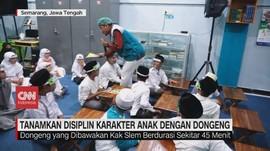 VIDEO: Tanamkan Disiplin Karakter Anak dengan Dongeng