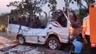 VIDEO: Kecelakaan Maut di Tol Cipali, 8 Orang Tewas