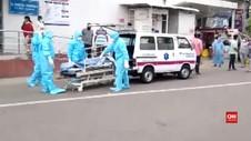 VIDEO: Pusat Perawatan Pasien Covid-19 Terbakar, 11 Tewas