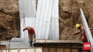 Susunan Bata Bangunan Bersejarah Ditemukan di Stasiun Bekasi