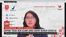 VIDEO: BPOM: Tidak Ada Klaim Jamu Dapat Bunuh Covid-19